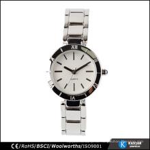Kaufen Sie Quarzarmbandart und weisedamenuhr, kundenspezifisches Uhrlogo