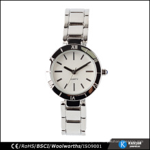Comprar pulsera de cuarzo reloj de señoras de moda, logotipo de reloj personalizado