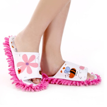 Microfiber Slippers with Flower (QH-2954)