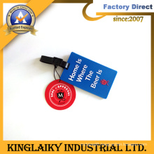Customized Soft PVC Luggage Tag with Logo for Promotion (LT-5)