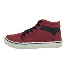Zapato casual del zapato del alto patín del tobillo de los hombres (J2327-M)