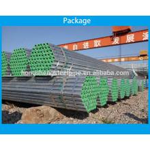 A53 padrão Tubo de aço estrutural galvanizado