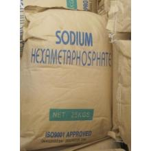 SHMP 68% Min/ Sodium Hexametaphosphate 68% with Quality Standard (GB1890-1989, FCC-IV)
