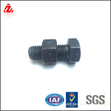High strength carbon steel hex bolt and nut