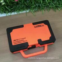 JAKEMY JM-6111 69 in 1 DIY Hand Tool Set 180 Degrees Ratchet Screwdriver with Chrome Vanadium Bits Home Tools