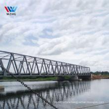 manufacturer municipal bridge large span steel structure portable bailey skywalkpedestrian bridge