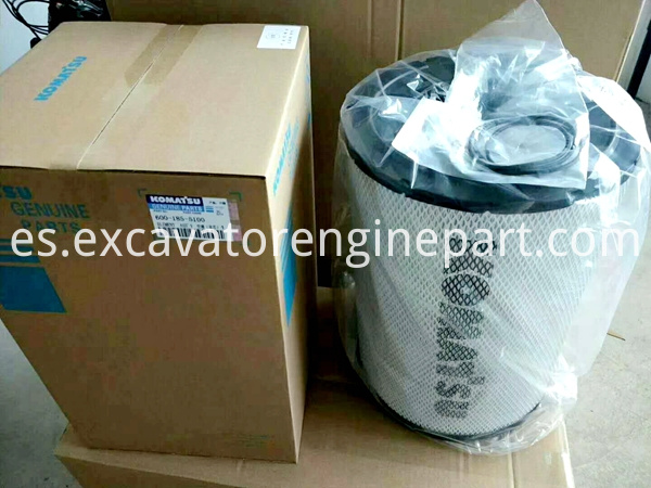 Komatsu Loader WA380-6 Engine Hood, Air Cleaner Assembly 600-185-5100