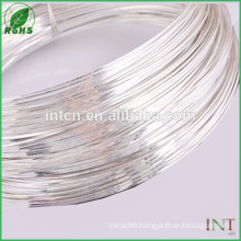 test report available High purity AWG16 silver wire 99.99%