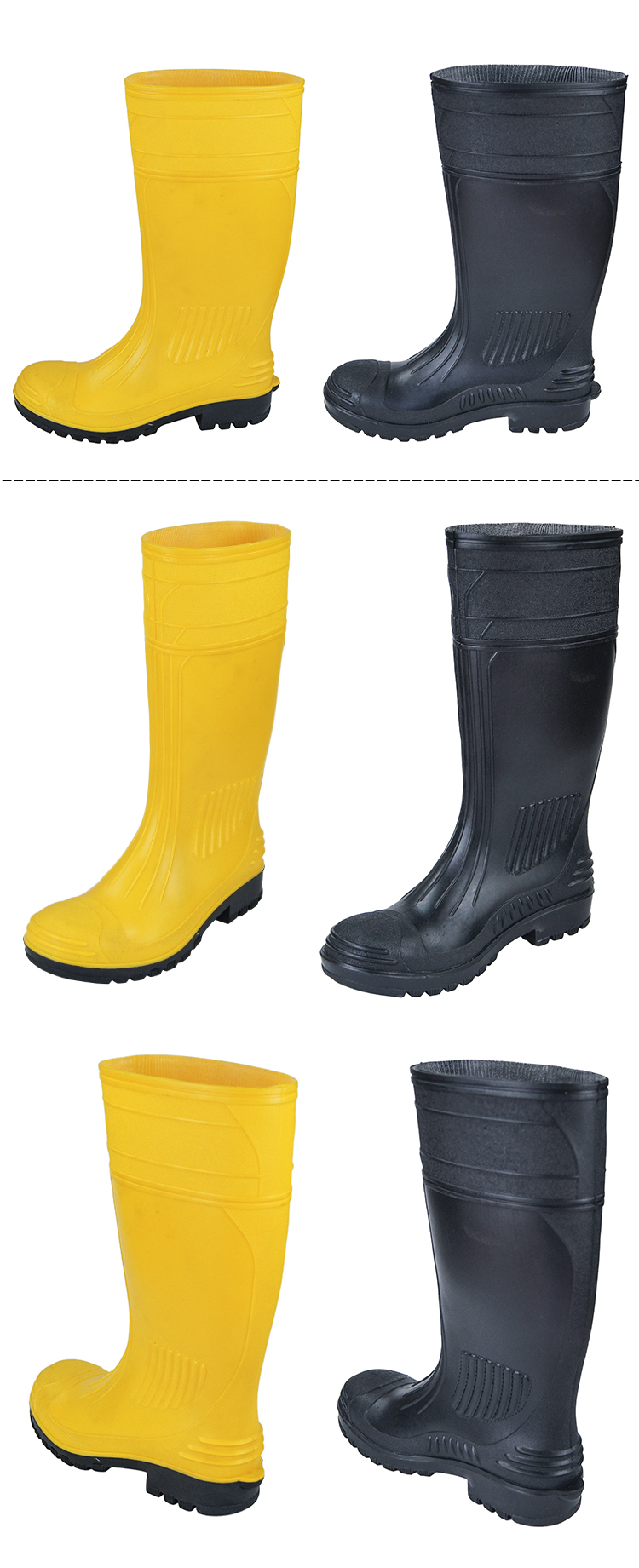 Anti-acid Safety Rain Boots