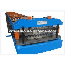 YD-000409 Metall Deck Roll Forming Machine / Stahl Deck Forming Machine mit hydraulischen automatischen Schneideinheit