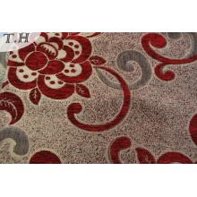 Tela tejida al por mayor del chenilla del poliéster de la tela del sofá