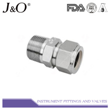 Tube Fitting-Straight Male NPT Thread Connectors Instrument Pipe Fitting