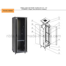 Floor Stand Network Cabinet for Telecommunication Equipment