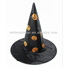 Popular Masquerade Props Halloween Party Wizard Pumpkin Printing Hats
