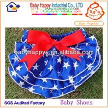 China Los mejores patrones de la estrella de la venta Bloomer del bebé de la muchacha