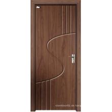 MDF Tür Grün Umwelt PVC Tür für Schlafzimmer