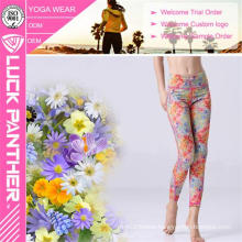 Wholesale Quick Dry Fitness Sublimated Secy Ladies Girl Yoga Pants Sports Leggings Tights