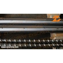 Одиночный бочонок винта для производственной линии трубы PVC