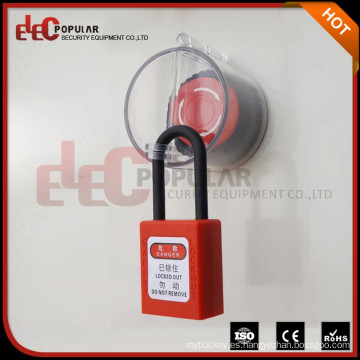 Elecpopular Producto caliente 2016 27-32Mm Bloqueo de la parada de la seguridad de la emergencia de alta calidad / bloqueo del botón de empuje
