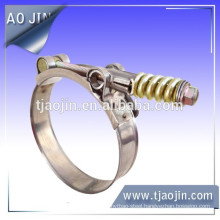 T-spring hose clamp,T-bolt clamp