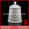 Customized coffee ceramic airtight storage canister