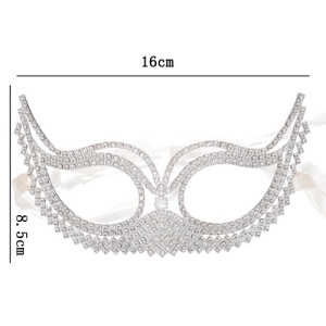 Wholesale Crystal Masquerade Mask