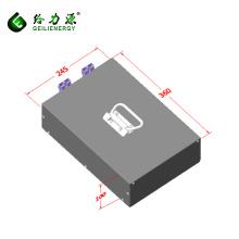 La batería recargable del ion de litio del ciclo profundo 8s12p embala el paquete de batería del ion de litio de 24v 40ah
