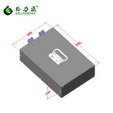 Bateria de iões de lítio recarregável de ciclo profundo 8s12p 24v 40ah bateria de iões de lítio