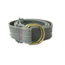 3.8cm breite doppelte D-Ringwölbung Webband Jeans Gürtel -KL0029