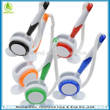 stylo de comptoir en plastique avec chaîne de vente chaud