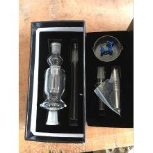 Tubulações de fumo do coletor por atacado do néctar da tubulação de vidro