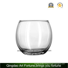 Round Glass Bowl Candle Holder Manufacturer