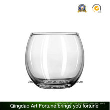 Vela de vidro redonda fabricante