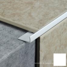 Guarnição de azulejos de cerâmica PVC em 10 mm de altura