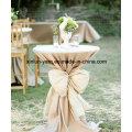Tela de poliéster de la servilleta de tabla de la decoración de la boda para casarse