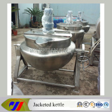 Steam Heating Jacketed Cooking Tank Cooking Pot