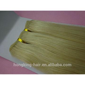 Lista de precios del cabello humano indio natural 100% pelo virginal indio sin procesar que teje paquetes de cabello virgen con cierre de encaje