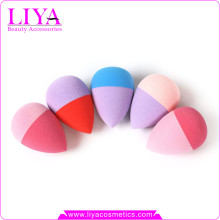 2015 New design eggs sbr latex Sponge double color makeup powder puff