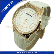 Damen-Qualitäts-Edelstahl-Quarz-Armbanduhr Psd-2864