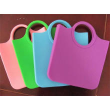 Promotion Gifts Reusable Eco-Friendly Silicone Handbag for Shopping