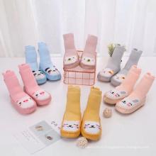 Custom Design Infant Toddler Newborn 3D Anti Slip Born Baby Cotton Socks