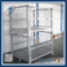 Cargo Storage Cage verrouillable avec roues