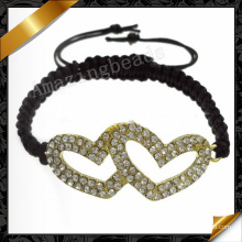 Heart Love Bracelet Jewelry Wholesale Bracelets for Women Gift (FB068)