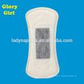 Mince avec une feuille supérieure en coton pour une utilisation de jour et des protège-slips ultra minces en bambou