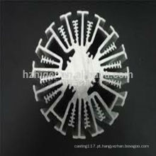 perfil de alumínio do dissipador de calor / dissipador de calor conduzido / dissipador de alumínio