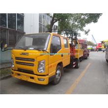 Camion plate-forme élévatrice double cabine JMC
