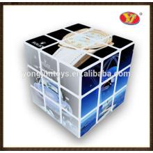 Cubos mágicos do cubo da impressão cheia do tamanho da venda quente 2016 para a promoção e as crianças