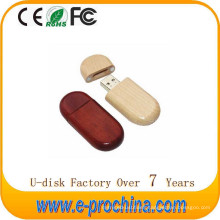 Hot Sale Wood USB Flash Drive with Environmental for Free Sample