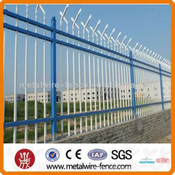 Iron Tube Fence Design