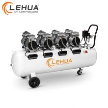 LeHua 4 cilindros compresor de aire silencioso de 115 psi